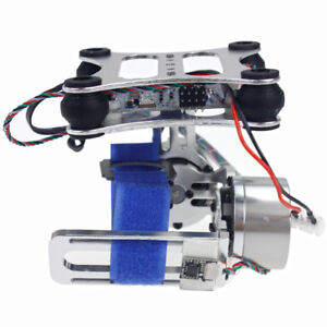 Details about Aluminum 2-Axis Gimbal Camera Mount w/ Brushless Motor  Controller for DIY Drone