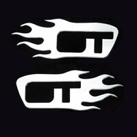 05-08 Mustang Gt Fender Flame Set-polished P/n:3661-02
