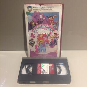 My-Pony-EX-Little-NOLEGGIO-BIG-BOX-VHS-VIDEO-FILM-VINTAGE-The-G1-80s-Retro