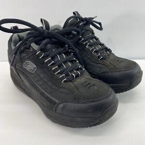 Sketchers-Shape-Ups-Mens-7-Black-Walking-Toning-Fitness-Athletic-Shoes-52000