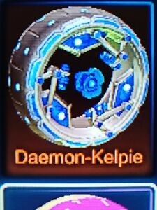 Details about xbox one rocket league cobalt painted daemon-kelpie wheels