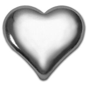 1 oz Silver Heart - Geiger Edelmetalle - SKU #105147