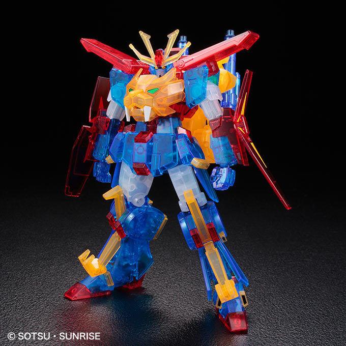 [Event begränsad] HGBF 1  144 Gundam Tryon 3 [Klar färg] Gunpla Plastic modelllllerlerl kit