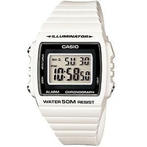 Casio-W-215H-7A-White-Classic-Digital-Watch-W215H-7AV-with-Box-Included