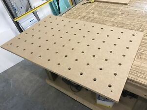 Replacement-Table-Top-Festool-MFT-3-CNC-cut-18mm-Mdf-FREE-SHIPPING-inc-NI