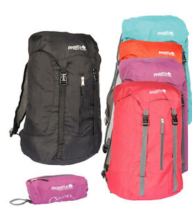 1c81881ed811 Image is loading Regatta-Unisex-Mens-Ladies-Easypack-II-Backpack-25-