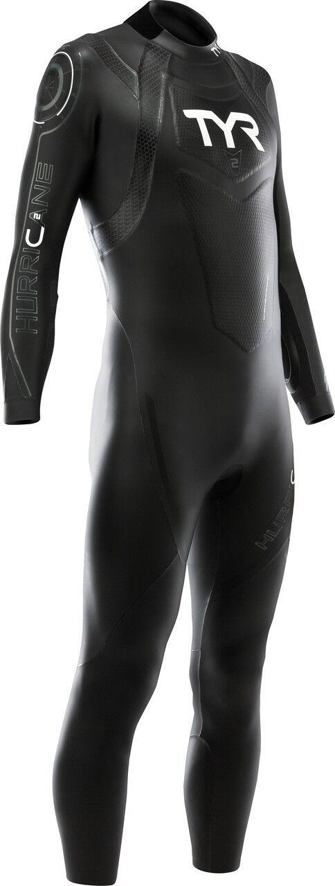 TYR Men's Hurricane Category 2 Full Sleeve Wetsuit - 2019