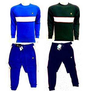 Lyle-amp-Scott-Stripe-Men-039-s-Sweatshirt-or-Joggers-Comfort-for-winter