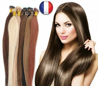 Health & Beauty Sweet-Tempered 50 100 200 Extensions Cheveux Pose A Chaud Remy Naturels 49/60cm 0,5g-1g Aaa Pro