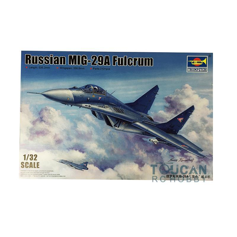 Aircraft Kit Trumpeter Russian Mikoyan MIG-29A Fulcrum  03223 1 32 Fighter Model