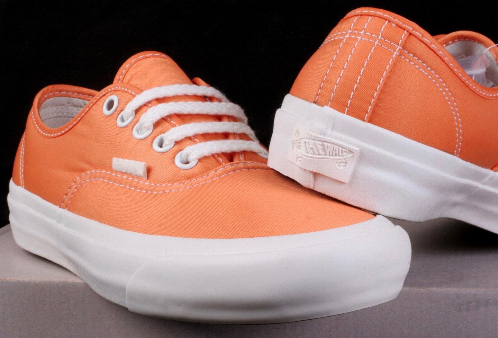 Vans Authentic Pro LX Our Legacy OC orange & White Low Top shoes Size 4M   5.5W