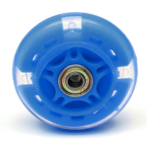 80mm-120mm LED FLASH WHEEL Kickboard City Scooter Roller Ersatzräder ABEC-7 DE