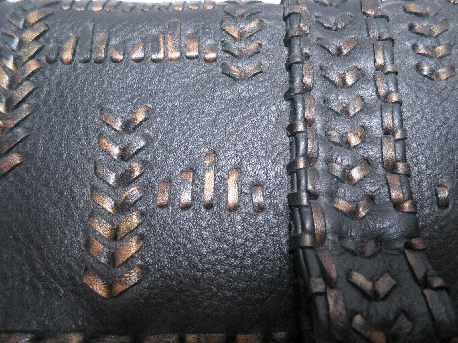 Akkesoir, Tia Clutch, Tasche, Leder schwarz, VK VK VK  - LUXUS PUR | Niedriger Preis  | Lass unsere Waren in die Welt gehen  | Internationale Wahl  780149