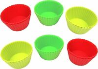Homemaker Silicone 12 Piece Cupcake Liners