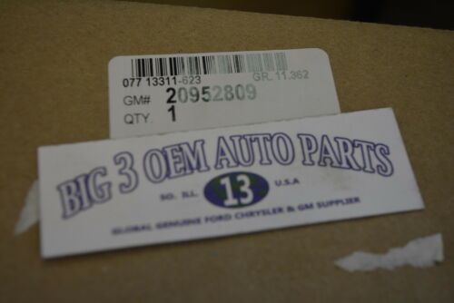 Buick Lucerne Cadillac DTS LH Driver Seat Cushion Side SHIELD new OEM 20952809