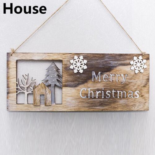 Gifts Home Decor Wooden Ornaments Mini Desktop Xmas Tree Christmas Decoration