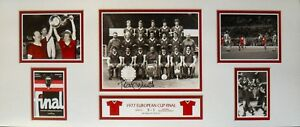"TOMMY SMITH SIGNED LIVERPOOL 30""x12 EUROPEAN CUP 1977 FOOTBALL PHOTOGRAPH PROOF"