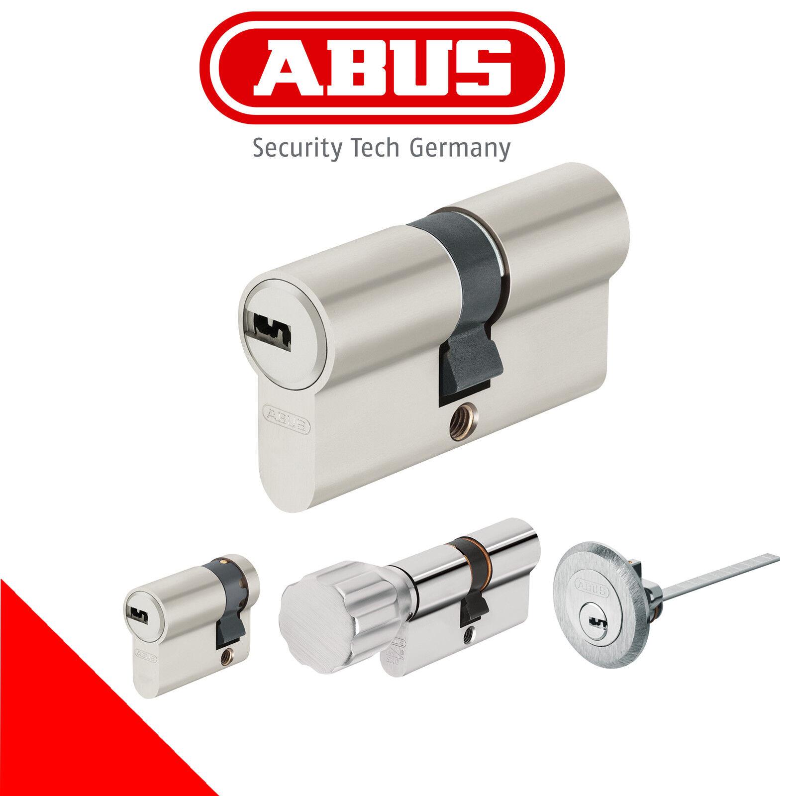 ABUS EC 550 Profilzylinder Set Gleichschließend mit 3 Schlüssel  | Trendy  | Creative  | Discount  | Sofortige Lieferung
