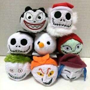 8-Styles-The-Nightmare-Before-Christmas-Tsum-Santa-Jack-Zero-Sally-Plush-Dolls