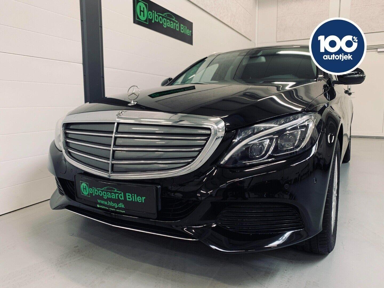 Mercedes C220 d 2,2 Exclusive stc. aut. 5d - 364.800 kr.