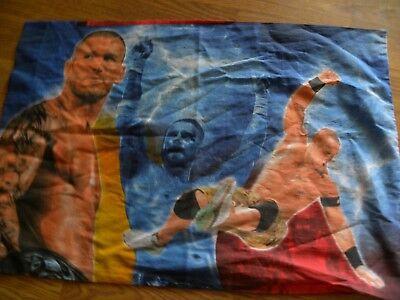 WWE Reversible Pillow Case NeW Soft Microfiber Pillowcase John CENA Reigns Orton