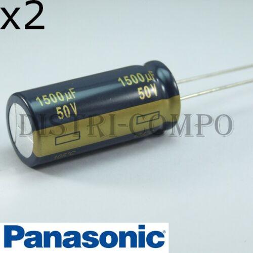 Capacitor Electrolytic Radial Panasonic 50V 105° Value of choice FC Low Esr