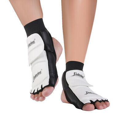 PU Taekwondo Karate Foot Guard Protector MMA TKD Socks Kicking Sparring Gear