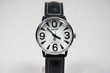Russian mechanical watch RAKETA BIG ZERO. White dial. 34mm