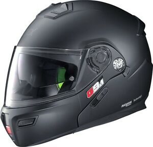 Grex-G9-1-Kinetic-Flat-Matt-Black-Flip-Front-Modular-Motorcycle-Helmet-Nolan