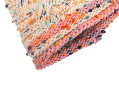 Cute Boys//Girls Kids Knit Beanie Toddlers Children Cable Hat Cap with Pompom