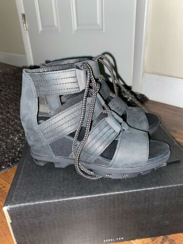 sorel wedge sandals