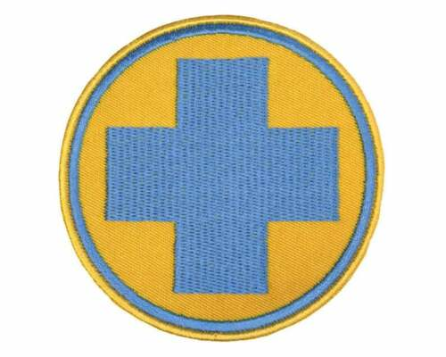 Team Fortress 2 Medic Blue//Red Embroidered Patch