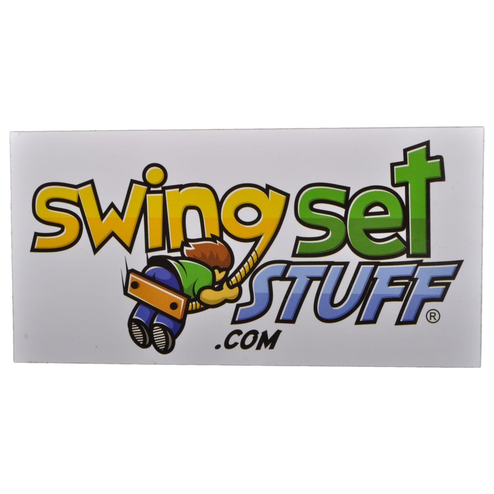 SWING SET SET SET STUFF INC. HEAVY-DUTY TIRE SWIVEL KIT RED playground fun toy kids 0303 d4f3d4