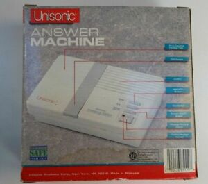 Unisonic Full Feature Answering Machine Model 8719N