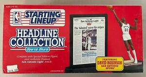 1992 Kenner Starting Lineup David Robinson Headline Collection Sports Stars NBA