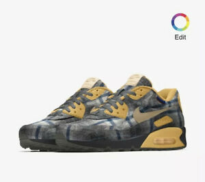 Nike-Air-Max-90-Pendleton-By-You-2019-Uk-10-Eu-45-DEADSTOCK-Sold-Out-AM90