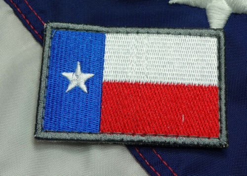 TEXAS FLAG MORALE PATCH HOOK TACTICAL ARMY LONE STAR UNIFORM VEST