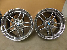 SET OF 2 BMW WHEELS RIMS NICE USED, 8JX18H2, PCD 120, ET 35 MADE IN ITALY