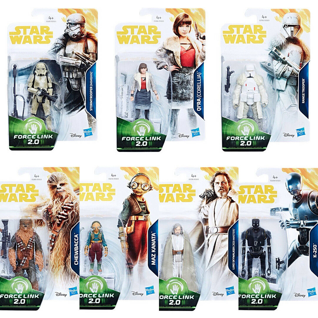 Star Wars Hasbro 3.75  SOLO Force Link 2.0 Action Figure Case Of 12 NEW 2018