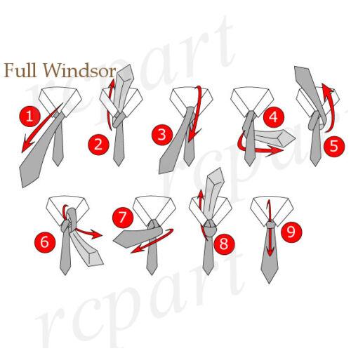 New men/'s polyester woven neck tie necktie prom polka dots red white