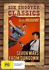 Seven Ways From Sundown (DVD, 2014)