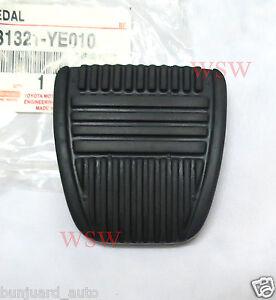 Black-Clutch-Brake-braking-Pedal-Pad-Rubber-replacement-for-Car-Pickup-Toyota