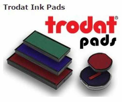 5440//L Trodat 6//53//2 2 pack Replacement Ink Pads for models 5440