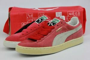 outlet store 08fed 624c7 Image is loading PUMA-SUEDE-CLASSIC-ECO-TEAM-LEGAL-RED-WHITE-