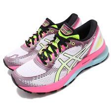 Asics GEL-NIMBUS 21 Sp белый розовый рост Bryte женские кроссовки 1012A502-100