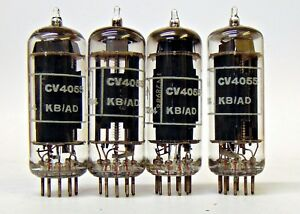 6CH6-CV4055-Brimar-British-NOS-Tube-sim-EL84-Matched-Quads