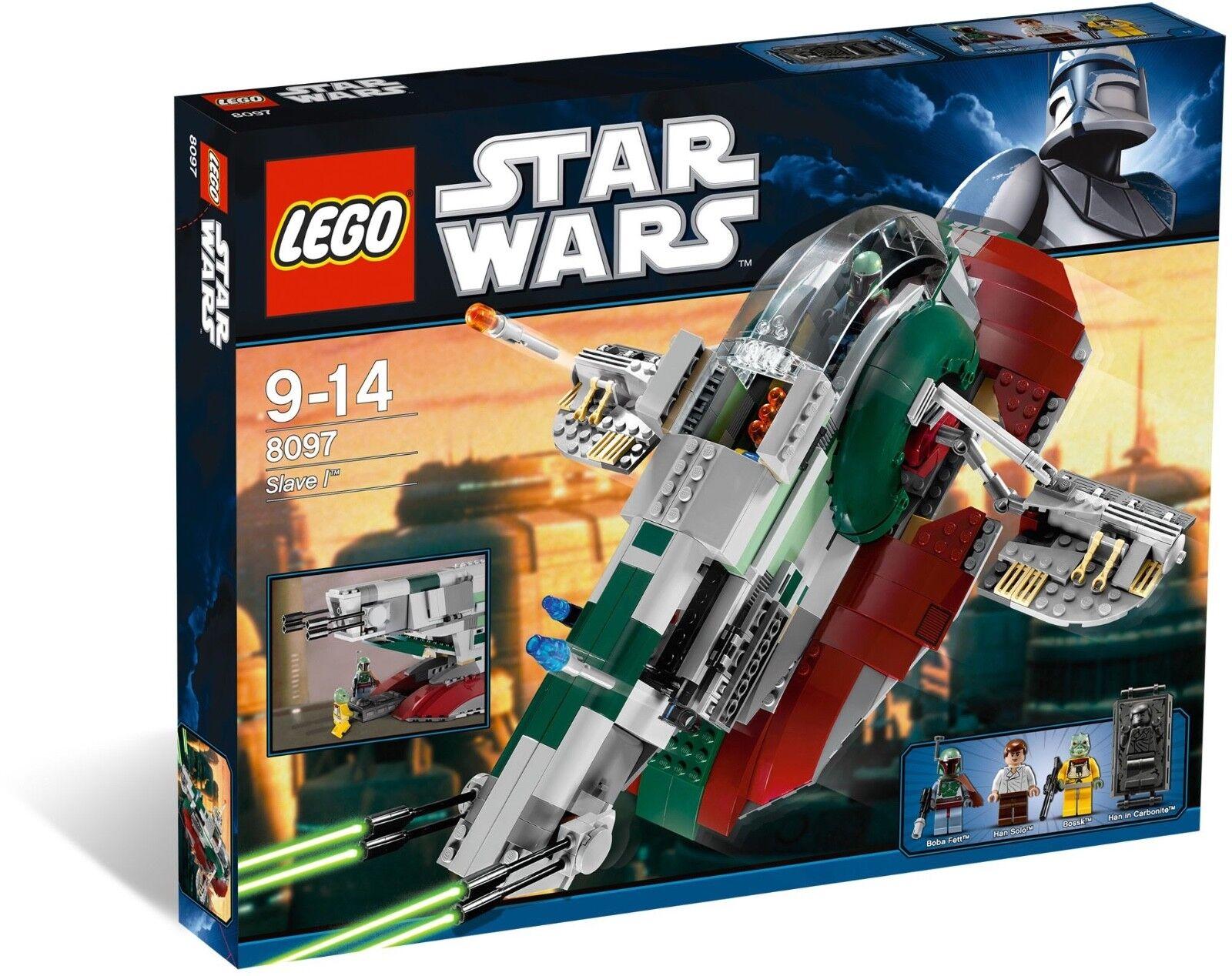 Nuevo  juego De Lego Star Wars Slave I 8097   Caja es ligeramente abollada