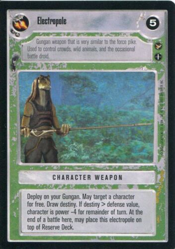 Star Wars CCG Theed Palace Electropole