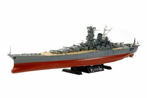 Tamiya 1 350 Ship Series No. 30 Japan Navy Battleship Yamato Plastic Model 78030