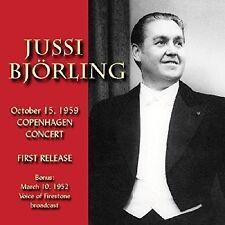 Jussi Bjorling - In Copenhagen 1959 [New CD]